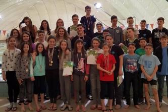 Megyei Úszó Diákolimpiai Döntő Békéscsabán