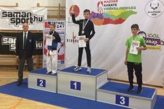 Müller Péter - karate - aranyérem